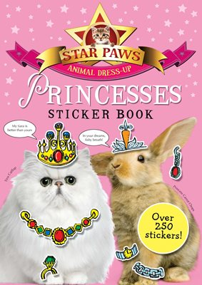 Book cover for Princesses Sticker Book: Star Paws